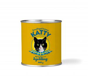 Katty Kyckling Burk 800 gr