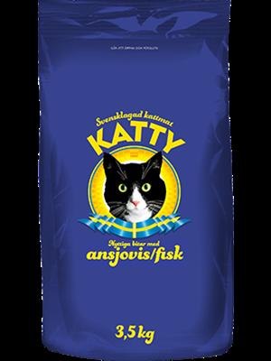 Katty Nyttiga Bitar Ansjovis 3,5 kg