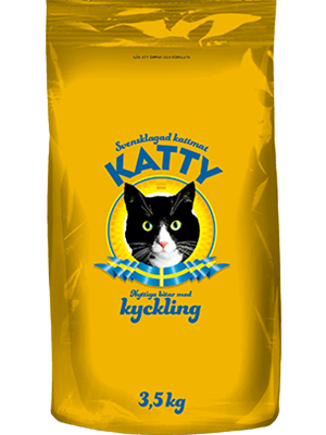 Katty Nyttiga Bitar Kyckling 3,5 kg