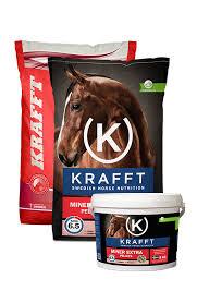 KRAFFT Mineral extra(Röd) Pellets 8 kg