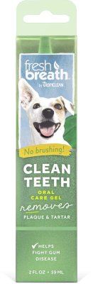 TROPICLEAN clean teeth oral care gel 59ml
