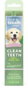 TROPICLEAN clean teeth oral care gel 59ml For puppies
