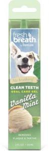 TROPICLEAN clean teeth oral care gel 59ml Vanilla mint