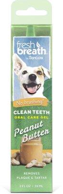 TROPICLEAN clean teeth oral care gel 59ml Peanut Butter