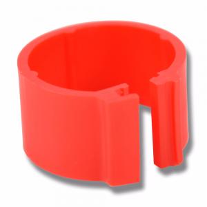 Märkring Röd 16 mm, 100 st 100 st