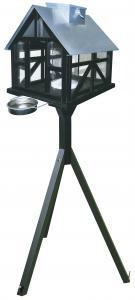 """Fågelmatare """"panorama"""" med fot och LED ljus, 3-4 kg 0 st"""