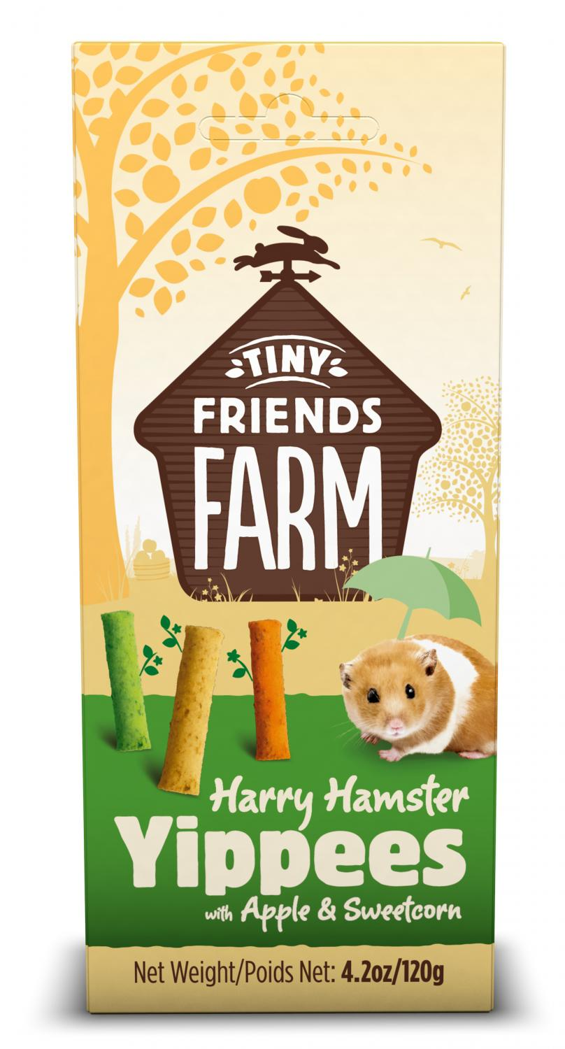 TFF Hamster Yippees Apple & Sweetcorn 120g