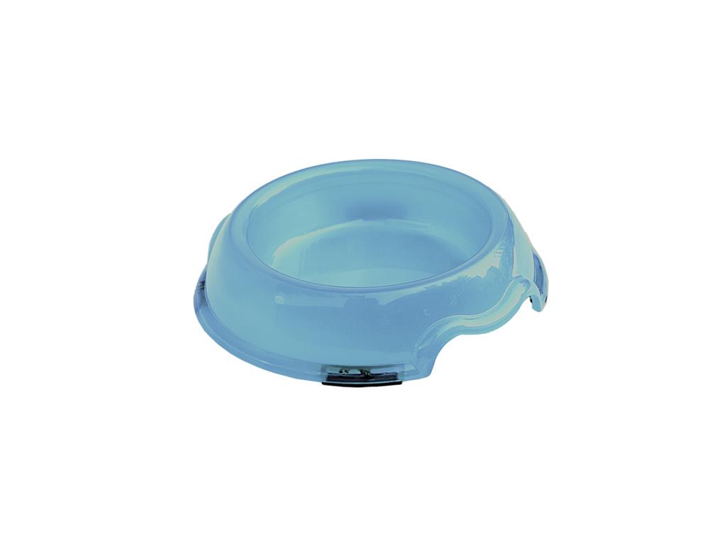 Skål Plast - Transparent -  175ml - Ljusblå