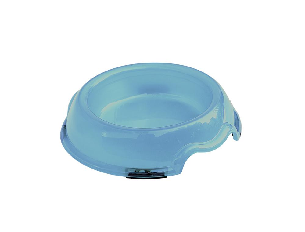 Skål Plast - Transparent -  250ml - Ljusblå