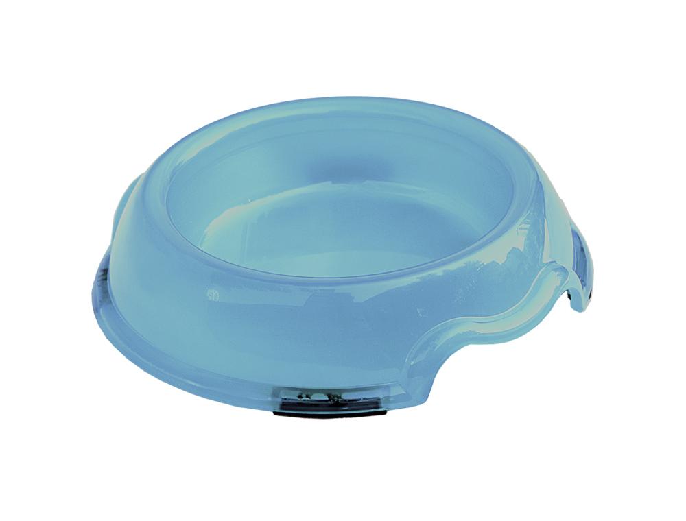 Skål Plast - Transparent -  500ml - Ljusblå