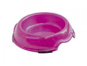 Skål Plast - Transparent -  500ml - Rosa