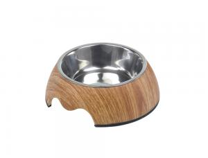 Skål Melamin - Wood - 160ml 14x4,5cm - Middle