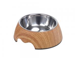 Skål Melamin - Wood - 350ml 17x6,5cm - Middle
