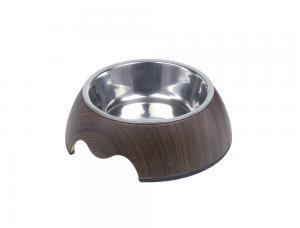 Skål Melamin - Wood - 160ml 14x4,5cm - Dark