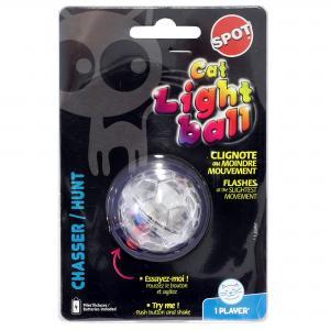 Kattleksak  Blinkboll plast Spot 3,5 cm