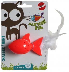 Kattleksak Fisk med catnip Spot 7 cm