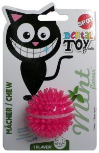 Kattleksak mjuk Taggboll Dental Spot