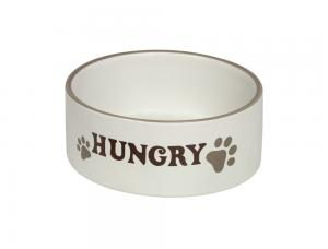 Skål Keramik - Hungry - 15,0x6,0cm - Kräm