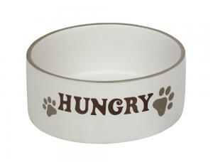 Skål Keramik - Hungry - 18,0x7,0cm - Kräm