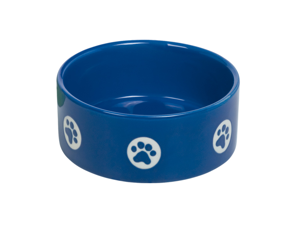Skål Keramik - Tassu - 15,0x6,0cm - Blå