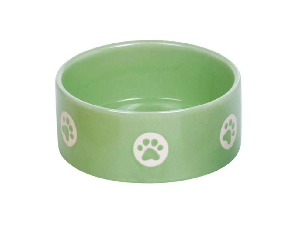 Skål Keramik - Tassu - 15,0x6,0cm - Grön