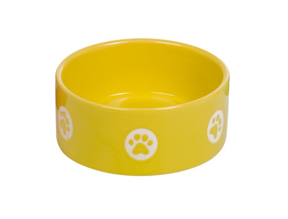 Skål Keramik - Tassu - 15,0x6,0cm - Gul