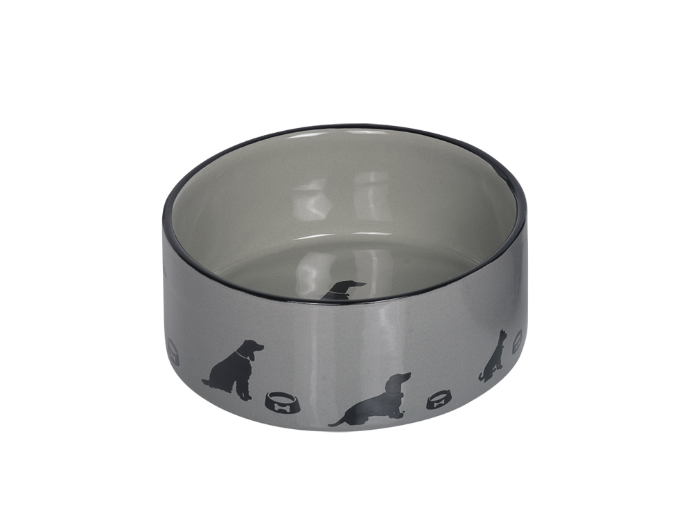 Skål Keramik - Marli - 15,0x6,0cm - Grå