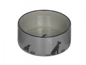 Skål Keramik - Marli - 18,0x7,0cm - Grå