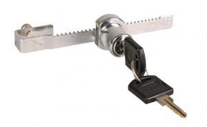 TR Terrarielås för gliddörr, med nycklar