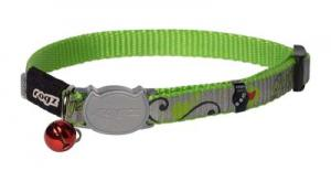 ROGZ REFLECTOCAT HALSBAND XS LIME 8MM 16