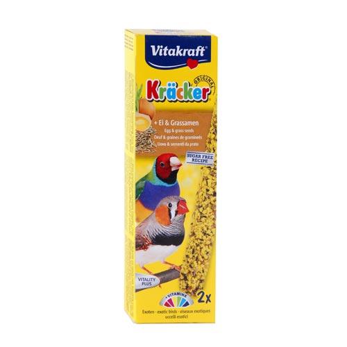 Kräcker Ägg & Gräsfrö 2-pack, Fink