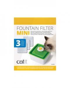 Catit Fountain Flower filter mini 3p