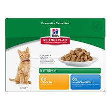 SP Kitten Favourite Selection 12x85g