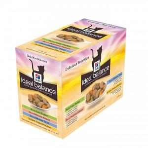 IB Feline Adult Multipack Delicious Selection 12x85g