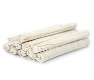 Pressed sticks White 20x2 cm. 10 pcs