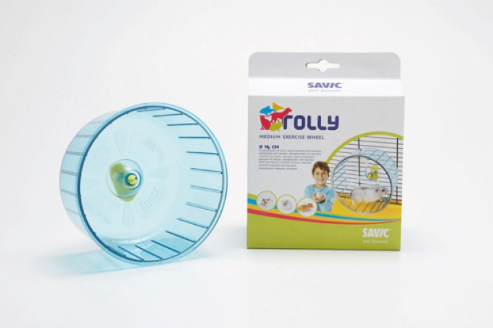 Springhjul Plast - Rolly Medium - Ø14cm