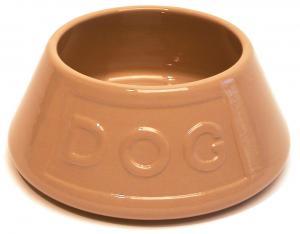 Keramikskål Dog Spaniel MC 16x8,5 cm