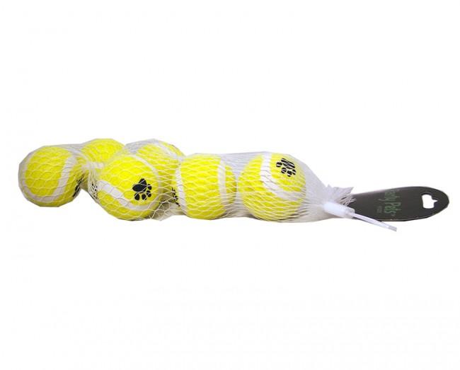 Tennisball 4,5 cm 6 pcs