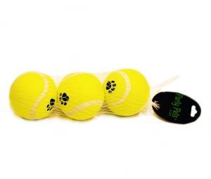 Tennisball  6,5cm 3 pcs
