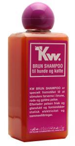 KW Brunt schampo 200 ml