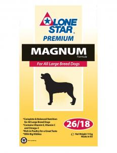 Lone Star Magnum 15kg (Beställningsvara)