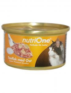 NutriOne Tonfisk & Ost 85g