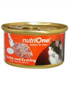 NutriOne Tonfisk & Kyckling 85g