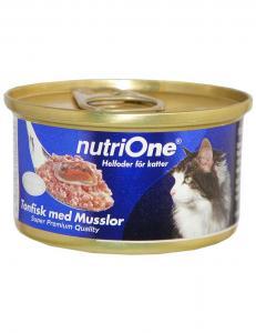 NutriOne Tonfisk & Musslor 85g