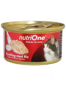 NutriOne Kyckling & Ris 85g