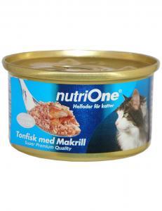 NutriOne Tonfisk & Makrill 24-p