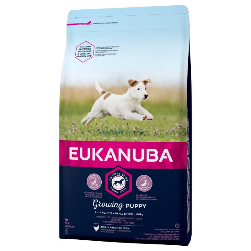 Euk Dog Pup & Jr Small 7,5 kg