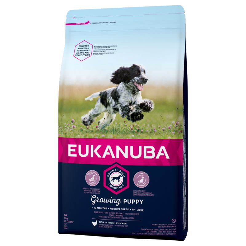 Euk Dog Puppy Medium 18 kg