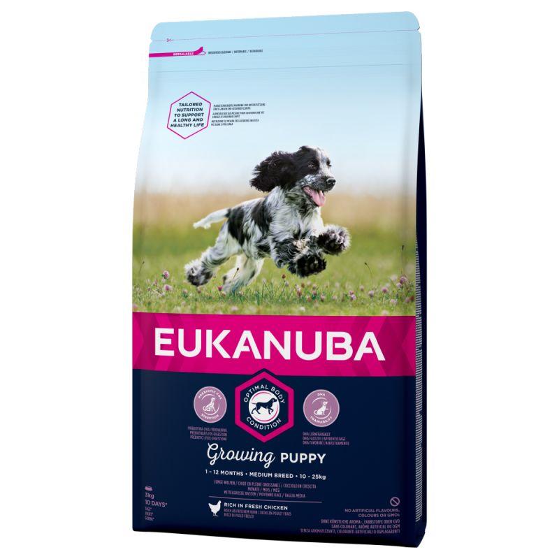 Euk Dog Pup & Jr Medium 9 kg