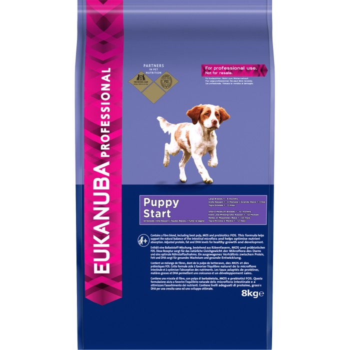 Euk Dog Puppy Start 8 kg